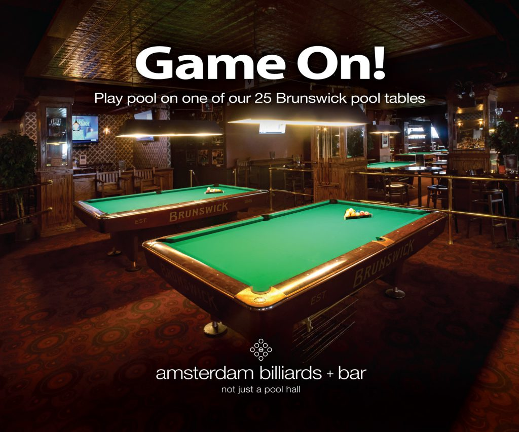 PARTIES Amsterdam Billiards - Pool table hall near me